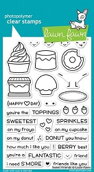 Lawn Fawn - Clear Stamps - Sweet Friends
