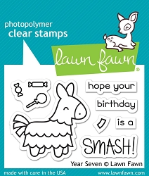 Lawn Fawn - Clear Stamps - Year Seven