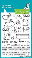 Lawn Fawn - Clear Stamps - Some Bunny