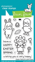 Lawn Fawn - Clear Stamps - Easter Party