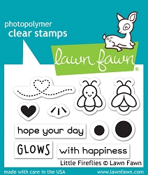 Lawn Fawn - Clear Stamps - Little Fireflies
