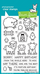 Lawn Fawn - Clear Stamps - Hay There
