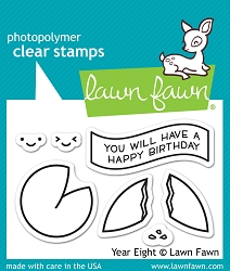 Lawn Fawn - Clear Stamps - Year Eight