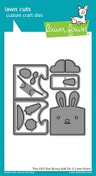 Lawn Fawn - Die - Tiny Gift Box Bunny Add-On