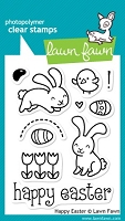 Lawn Fawn - Clear Stamps - Happy Easter