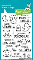 Lawn Fawn - Clear Stamps - Spooktacular