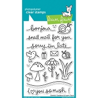 Lawn Fawn - Clear Stamps - Gleeful Gardens