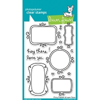 Lawn Fawn - Clear Stamps - Flirty Frames