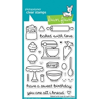 Lawn Fawn - Clear Stamps - Baked with Love