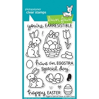 Lawn Fawn - Clear Stamps - Eggstra Special Easter