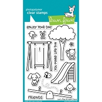 Lawn Fawn - Clear Stamps - Let's Play