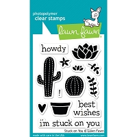 Lawn Fawn - Clear Stamps - Stuck On You