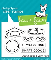 Lawn Fawn - Clear Stamps - Smart Cookie
