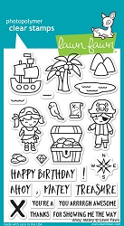 Lawn Fawn - Clear Stamps - Ahoy, Matey
