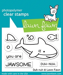 Lawn Fawn - Clear Stamps - Duh-nuh