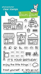 Lawn Fawn - Clear Stamps - Village Shops