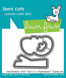 Lawn Fawn - Die - One In A Chameleon
