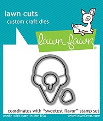 Lawn Fawn - Die - Sweetest Flavor