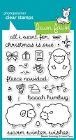 Lawn Fawn - Clear Stamps - Baaah Humbug