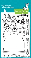 Lawn Fawn - Clear Stamps - Ready, Set, Snow