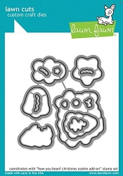 Lawn Fawn - Die - How You Bean? Christmas Cookie Add-On