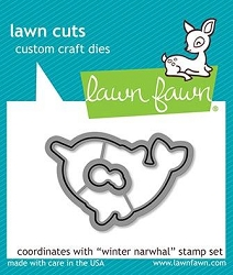Lawn Fawn - Die - Winter Narwhal