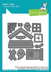 Lawn Fawn - Die - Build-a-House Halloween Add-On