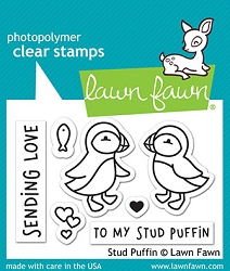 Lawn Fawn - Clear Stamps - Stud Puffin