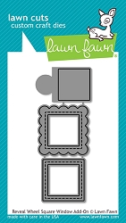 Lawn Fawn - Die - Reveal Wheel Square Window Add-On