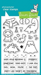 Lawn Fawn - Clear Stamps - Rawrsome