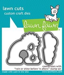 Lawn Fawn - Die - Rain Or Shine Before 'n Afters