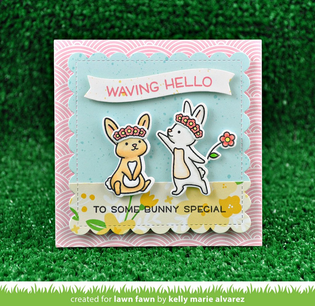 Lawn Fawn Double-Sided Collection Pack PA091 Really Rainbow Christmas 12X12 12Pkg LF1741