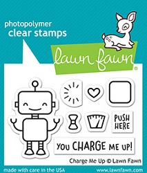 Lawn Fawn - Clear Stamps - Charge Me Up