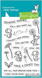 Lawn Fawn - Clear Stamps - Dandy Day