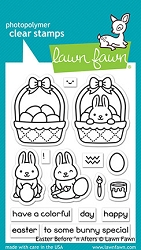 Lawn Fawn - Clear Stamps - Easter Before 'n Afters