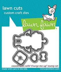 Lawn Fawn - Die - Charge Me Up Lawn Cuts