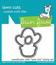 Lawn Fawn - Die - Year Ten Lawn Cuts