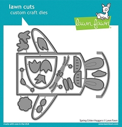 Lawn Fawn - Die - Spring Critter Huggers