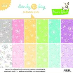 Lawn Fawn - 12x12 paper pack - Dandy Day
