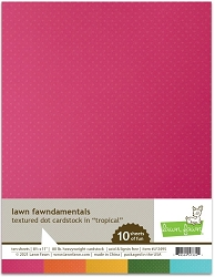 Lawn Fawn - 8.5x11 specialty paper - Texture Dots Tropical