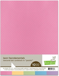 Lawn Fawn - 8.5x11 specialty paper - Texture Dots Pastels