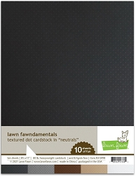Lawn Fawn - 8.5x11 specialty paper - Texture Dots Neutrals