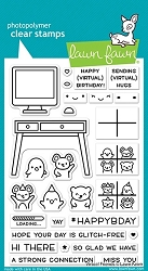Lawn Fawn - Clear Stamps - Virtual Friends