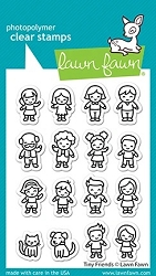 Lawn Fawn - Clear Stamps - Tiny Friends