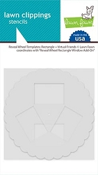 Lawn Fawn - Reveal Wheel Templates: Rectangle Window