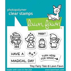 Lawn Fawn - Clear Stamps - Tiny Fairy Tale