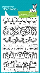 Lawn Fawn - Clear Stamps - Simply Celebrate Summer
