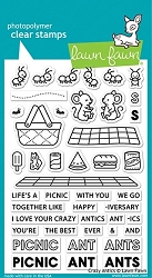 Lawn Fawn - Clear Stamps - Crazy Antics
