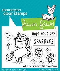 Lawn Fawn - Clear Stamps - A Little Sparkle