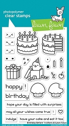 Lawn Fawn - Clear Stamps - Birthday Before 'n Afters